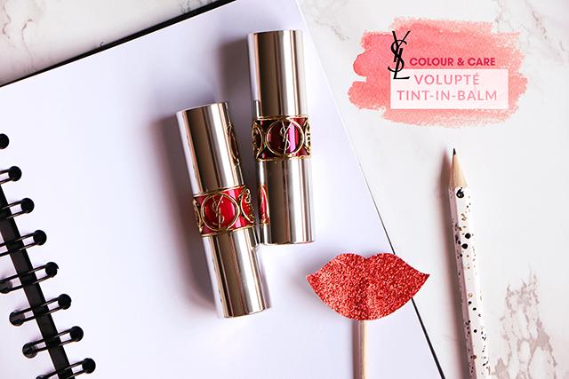 Le Volupté Tint-in-Balm d'Yves Saint Laurent, l'embellisseur lèvres