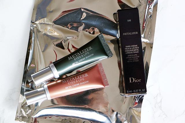 Focus sur le nouveau Metalizer Eyes&Lips de Dior