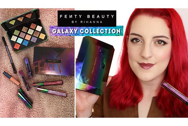 La collection Galaxy de Fenty Beauty (Holiday 2017)