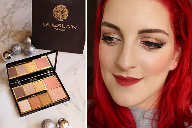 Guerlain sort le grand jeu pour les fêtes avec sa palette Gold !