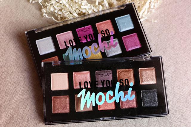 Les palettes Love you so Mochi de NYX : mon avis!