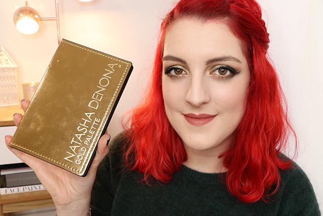 La palette Gold de Natasha Denona : le test!