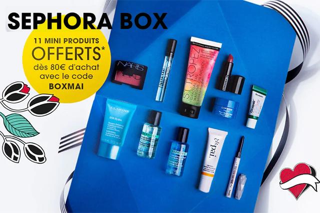 La Sephora Box est de retour! Edition Sunshine de mai !