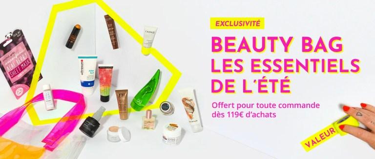 Bon plan de l'été: Beauty Bag Feelunique offert!