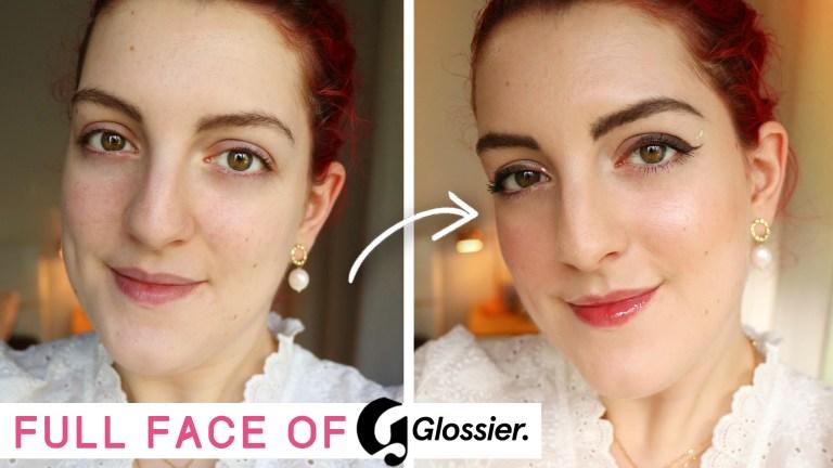 Full face of Glossier