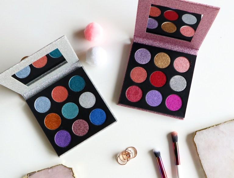 Très étonnée par les palettes Pressed Glitter de Makeup Revolution