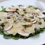 Spinat-Gurken-Pilz-Salat