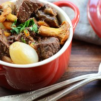 Boeuf Bourguignon nach Julia Child