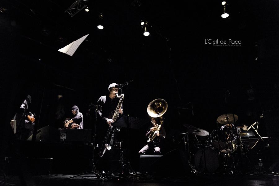 Michel Aumont & Le grand orchestre Armorigene à La Citrouille (1)
