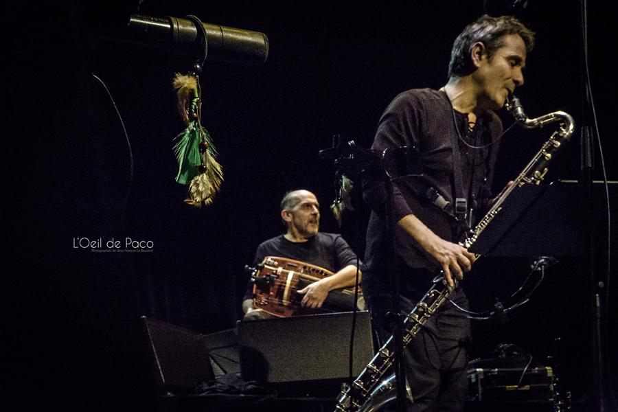 Michel Aumont & Le grand orchestre Armorigene à La Citrouille (16)