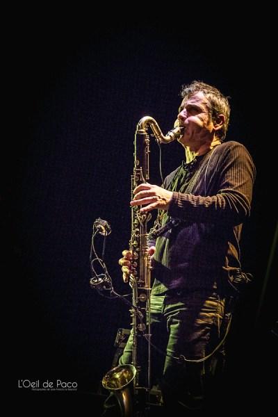 Michel Aumont & Le grand orchestre Armorigene à La Citrouille (21)