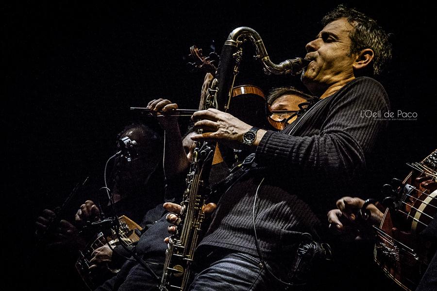 Michel Aumont & Le grand orchestre Armorigene à La Citrouille (25)