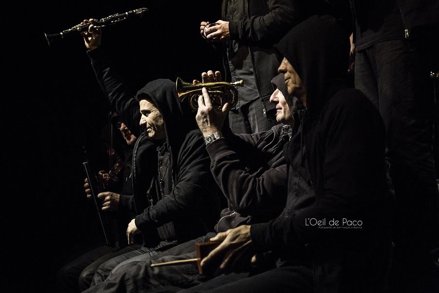Michel Aumont & Le grand orchestre Armorigene à La Citrouille (28)