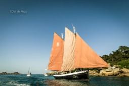 Photographe - Reportage - Tourisme - À bord de l'Ar Jentilez - Perros Guirec