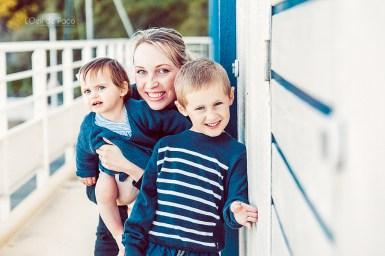 Un Œil sur votre famille – Charlotte, Nino et Milla, portrait