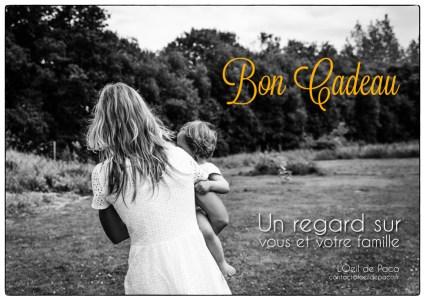 L'Oeil de Paco - Bon Cadeau - Un regard sur vous et votre famille