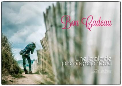 L'Oeil de Paco - Bon Cadeau - Une balade photographique