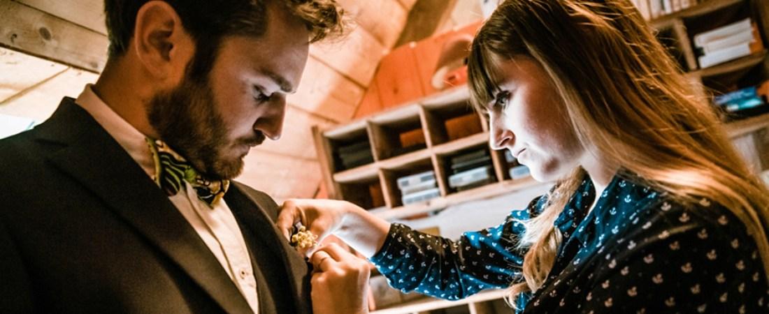 Photos des préparatifs - marié - Mariage Port Blanc