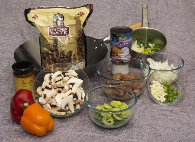 Her er ingrediensene, det er bare å sette igang å eksperimentere ...