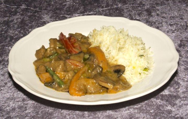 """Maten smakte faktisk """"kinesisk"""". Jeg er veldig fornøyd :)"""