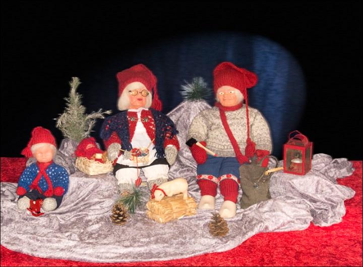 En God Jul til dere alle fra min kone, Torills Nisser!