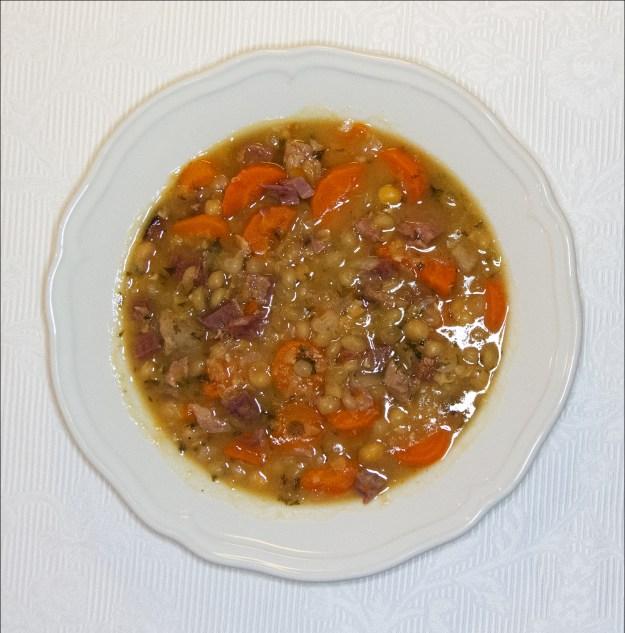 Enklere suppe skal du lete lenge etter ...