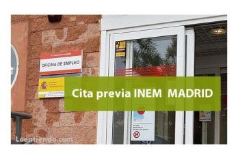 Cita previa INEM MADRID