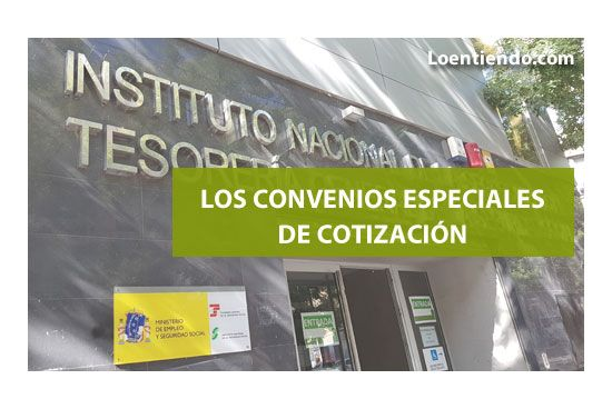 Convenios especiales de cotización