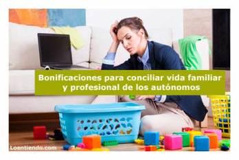 Bonificaciones para conciliar la vida familiar del autónomo