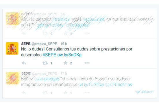Consultas SEPE