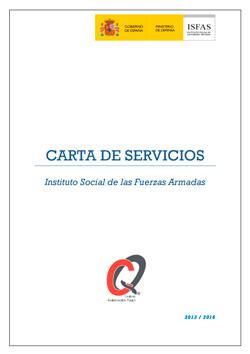 Carta de Servicios del ISFAS