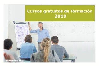 Cursos de formación gratuita 2019
