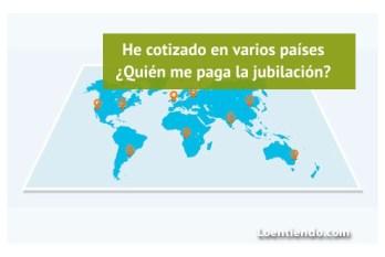 He cotizado en varios países. Quien paga la pensión de jubilación
