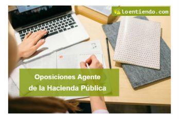 Oposiciones agentes hacienda pública