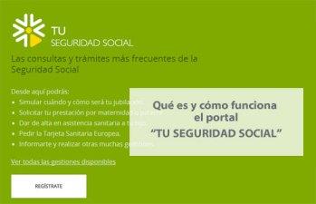 El portal Tu Seguridad Social