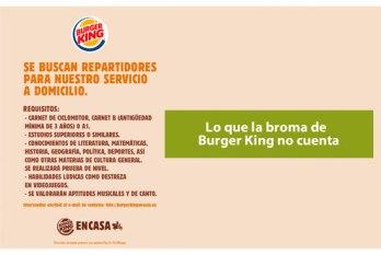 Broma de Burger King