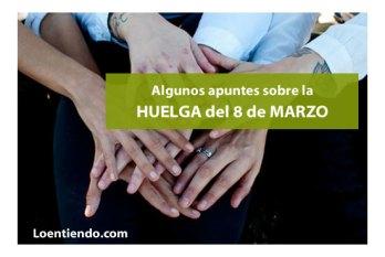 huelga mujeres 8 de marzo
