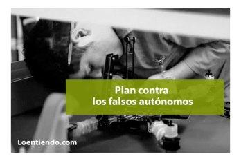 Plan del Ministerio de Trabajo contra falsos autónomos