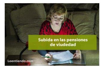 subida pensiones de viudedad