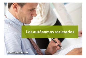 Los autónomos societarios
