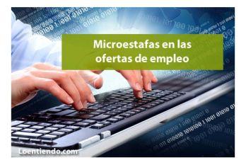 Microestafas en las ofertas de empleo