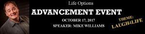 Advancement Event 2017 banner