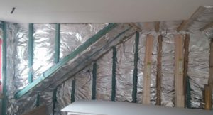 Space-blanket-over-25mm-battens-for-vapour-barrier-and-more-insulation
