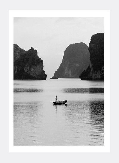 Plakat Wietnam Zatoka Ha Long