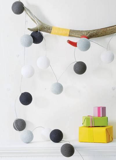 cotton balls szare