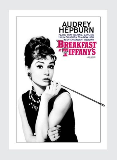 Plakat filmowy Śniadanie u Tiffaniego