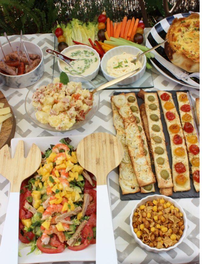 comida amigas Loft & table