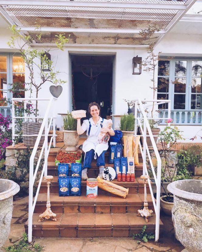 Federica Barnbaranelli y su comida gourmet