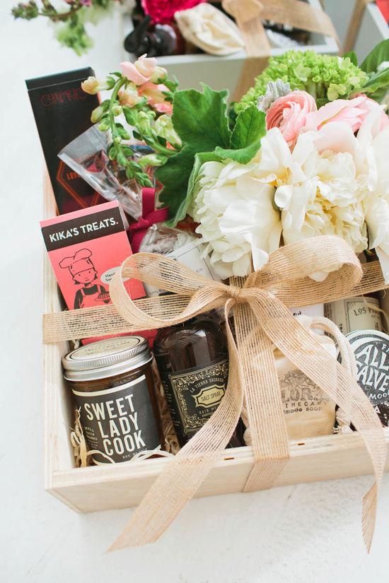cajas de regalos gourmet Designlovefest