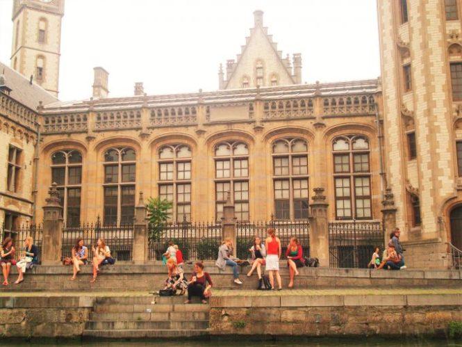 Vida en Gante Bélgica